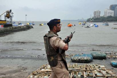 Mumbai on high alert after men with arms seen near naval base