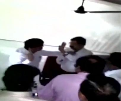 After video goes viral, NCP MLA denies slapping deputy collector