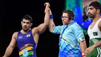 India at CWG 2018: Olympic medallist Sushil Kumar, two others enter wrestling finals