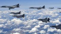 In a show of force, US flies stealth fighters, bombers over Korean peninsula