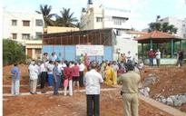 Vijayanagar residents oppose waste segregation plant inside park