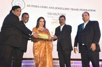 Swarovski Gemstones presented National Jewellery Awards 2015-16