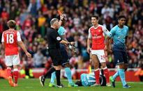 Former referee Mark Halsey claims Arsenal star Granit Xhaka should have received a caution, not a red card,...