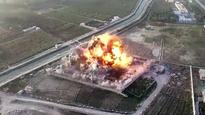 Watch: This is the first drone footage of suicide attack released by Taliban