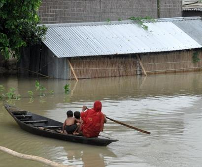 Assam submerged: 12.5 lakh face floods across 18 districts