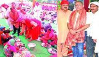 Annual Vishal Bhandara organised