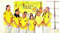 Inter House Music Competition held at JKPS Kathua