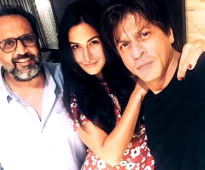Shah Rukh-Katrina begin shooting for Aanand L Rai's film