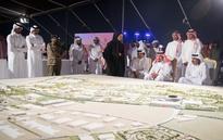 Father Emir hosts dinner banquet for Saudi King