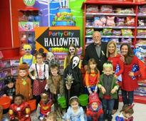 Party City Donates Halloween Costumes To Candlelighters NYC Pediatric Patients