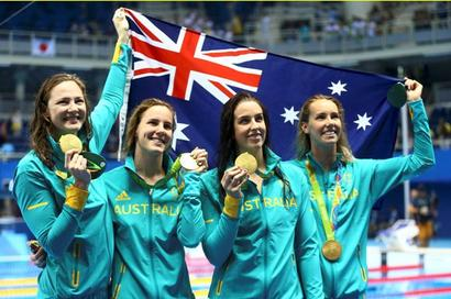 Campbell sisters power Australia to record and relay gold