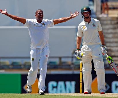 PHOTOS: Philander leads South Africa's comeback after Steyn blow