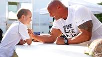 7-year-old battling cancer finally gets his wish to meet The Rock