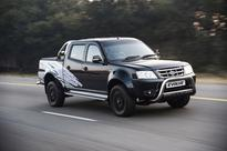 Black is the new In colour for the Tata Evolve bakkie