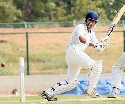 Duleep Trophy: Gambhir, Agarwal score 50s on curtailed Day 1