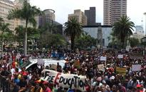 Thousands march for free education in Durban