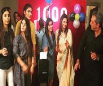 Divyanka Tripathi dances like there's no tomorrow at the 1000 episodes celebrations of Ye Hai Mohabbatein