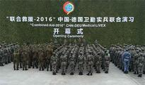 China, Germany kick off joint medical military exercise