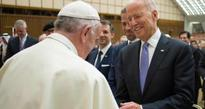 US vice-president drops in to Vatican for cancer event