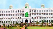 Maulana Azad National Urdu University teachers protest transfers