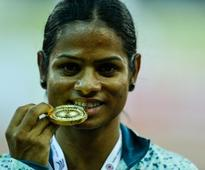 Dutee Chand breaks two national record, misses Olympic ...