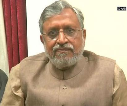 Will be taught a lesson: Sushil Modi on Tej Pratap's 'skinning' threat to PM