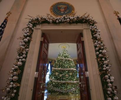PHOTOS: Christmas at the White House