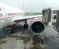 AI aircraft collides with aerobridge; none injured