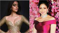 Check out the painting Sridevi gifted to Sonam Kapoor after the release of 'Saawariya'