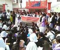 Jorhat students stage protest against eve-teasing incident