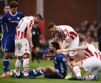 Premier League: Chelsea boss Antonio Conte hails Diego Costa after victory over Stoke City
