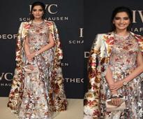 Sonam Kapoor stuns on her big red carpet event appearance!
