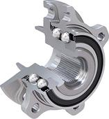 Lubrication solution for hub bearing units