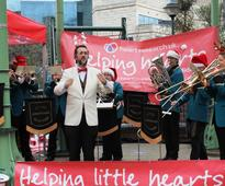 Spreading festive cheer at Brindleyplace