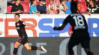 Bayer Leverkusen's Javier Hernandez: It was a perfect hat trick