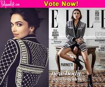 Deepika Padukone or Parineeti Chopra  who carried off the black and white jacket with elan?