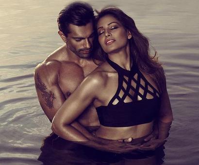 Watch Bipasha and Karan raising the temp in this steamy hot video