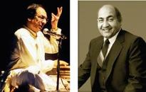 Ghulam Ali  traces  RafS musical journey on TV