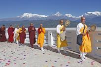 Prayers at the World Peace Pagoda