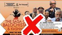 Kolkata club cancels Balochistan-Kashmir event featuring Tarek Fatah's talk