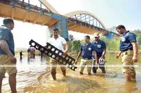 PSP landing mats used by Army recovered from Bharatappuzha riverbed