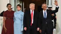 LIVE Donald Trump inauguration: President-elect 'the work begins' on morning of swearing in