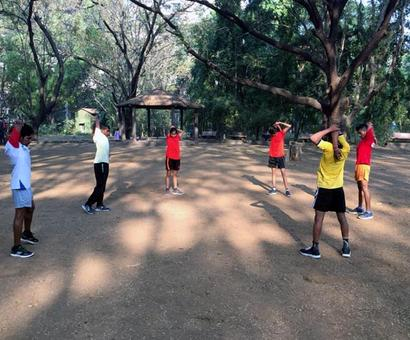 Race of a lifetime for tribal kids in Singapore