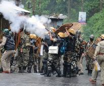 Body of protestors killed paraded, sporadic violence in Darjeeling hills