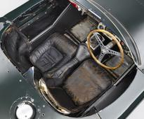 Once raced by Stirling Moss, an unrestored Jaguar C-Type headlines at Monaco