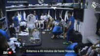 Watch Cristiano Ronaldo's inspiring half-time team talk to Real Madrid teammates during Champions League final