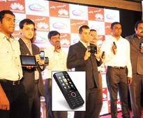 Huawei launches first Made in Indi phone  a 3G handset which doubles as WiFi hotspot
