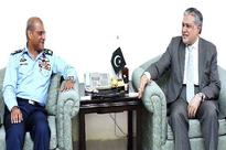 Air Chief calls on Finance Minister