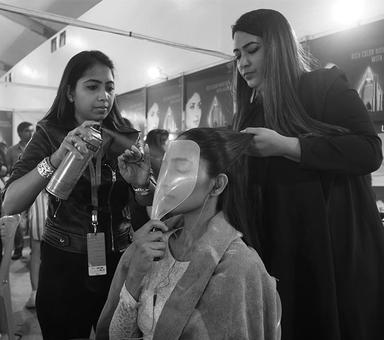 LFW Backstage: Why the green room is a special place