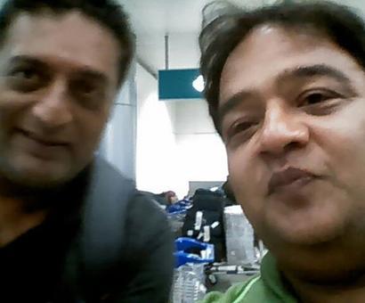 Spotted: Prakash Raj in Hyderabad